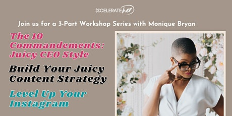 Build Your Brand DNA Workshop Series with Monique Bryan tickets