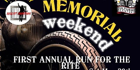 First Annual Run For The Rite. Bike Rally and Musical event tickets