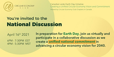 Circular Economy Cross-Canada Discussion - Follow up to the Film 2040 tickets