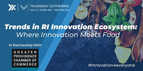 Trends in RI Innovation Ecosystem: Where Innovation Meets Food tickets