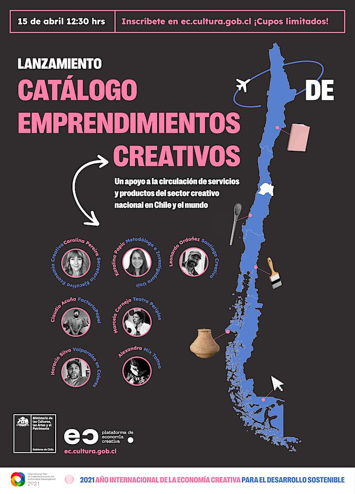 Imagen de Lanzamiento del primer catálogo de emprendimientos creativos en Chile