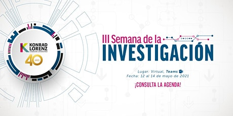 III Semana de la Investigación Desarrollo e Innovación entradas