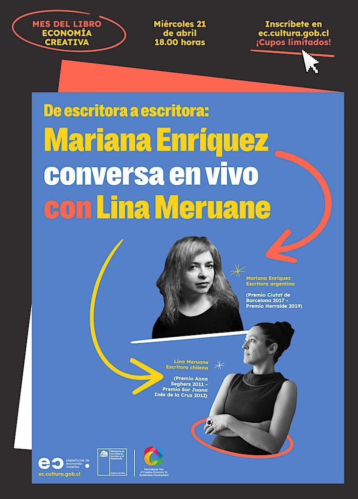 Imagen de Plataforma EC presenta: Mariana Enríquez conversa en vivo con Lina Meruane