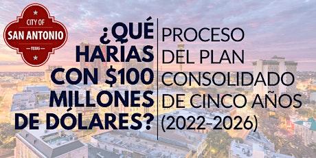 REUNIÓN # 2 DE ENTRADA COMUNITARIA DEL PLAN CONSOLIDADO DE HUD (2022-2026) biglietti