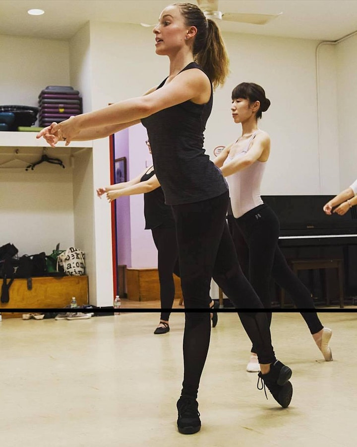 First Class *FREE* - Ballet on the Beach! All-levels Cardio Ballet. image