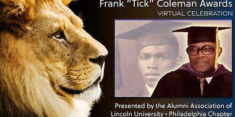 """AALU Phila. Chapter 18th Annual Frank """"Tick"""" Coleman Awards & Fundraiser tickets"""