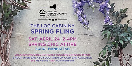 The Log Cabin NY Spring Fling tickets