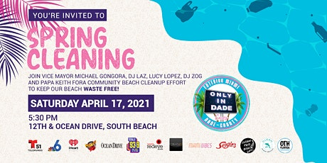 Spring Cleaning - Miami Beach Clean Up Event tickets
