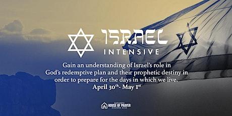 Israel Intensive tickets