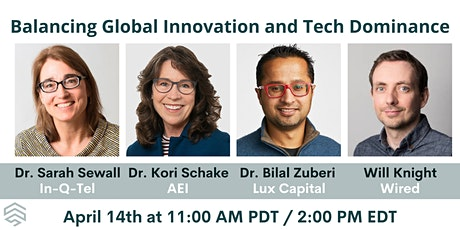 Balancing Global Innovation and Tech Dominance tickets
