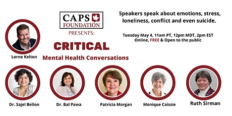 Critical Mental Health Conversations tickets