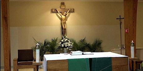 Misa en español - domingo 18 de abril- 7:30 P.M. boletos