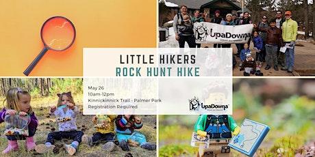 UpaDowna Little Hikers: Rock Hunt Hike tickets
