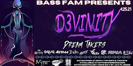 Bass Fam Presents: D3VINITY at Myth Nightclub | Sunday, 04.25.21 tickets