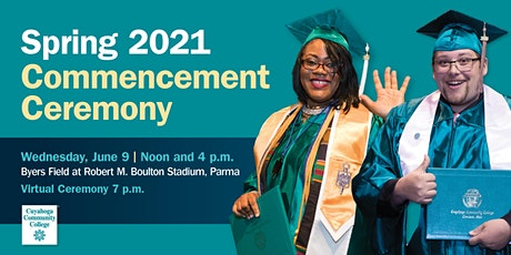 Spring  2021 Commencement tickets