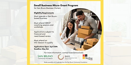 Micro Grant Info Session tickets