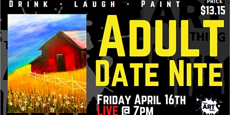 Date Night Paint Night - the one with the Red Barn tickets