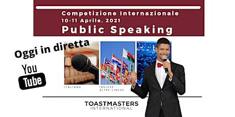 Gara Internazionale di Public Speaking  | D109 Division A  Conference 2021 tickets