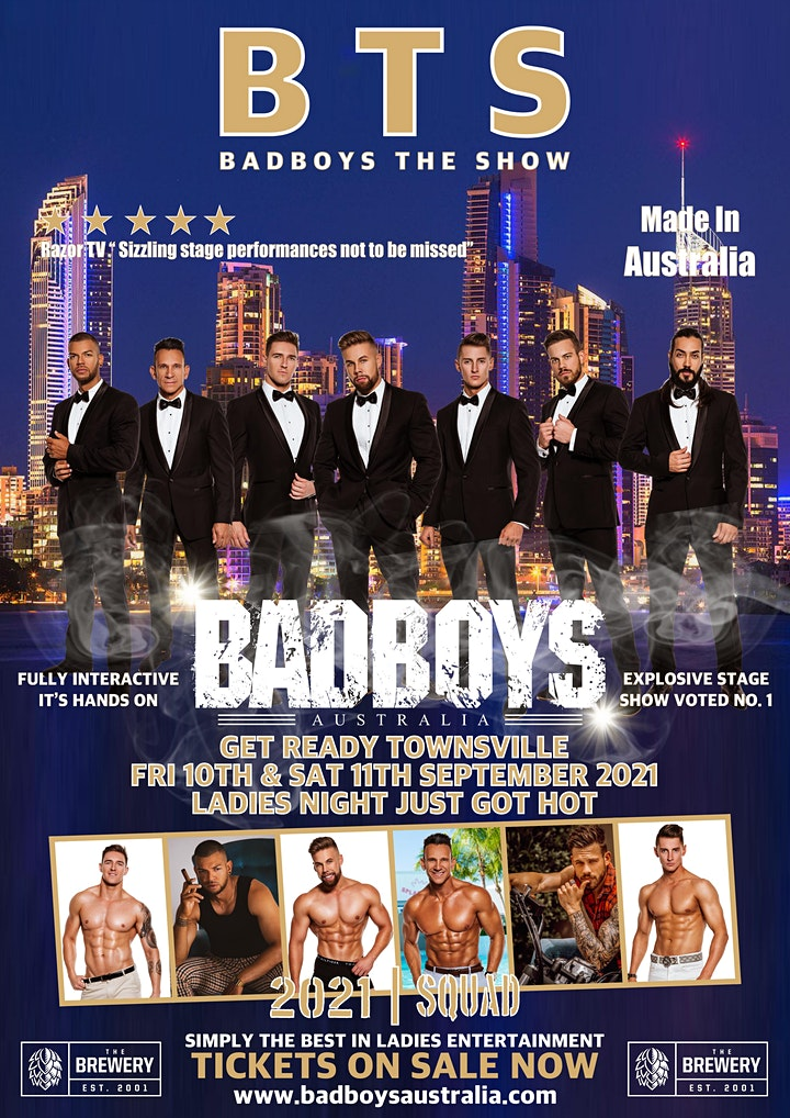 Badboys Australia LIVE at The Brewery Townsville 2021 image