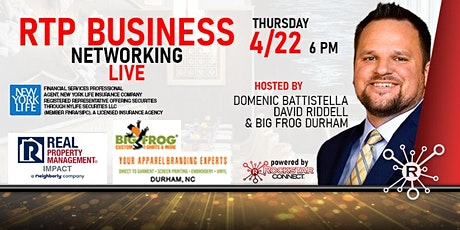 RTP Business Rockstar Connect Networking Event (April, RTP) tickets