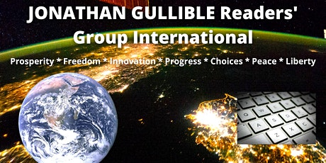 SAT 13Z - JONATHAN GULLIBLE Readers' Group International Zoom meeting. tickets