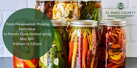 Home  Food Preservation: Pickling Technique Class - In-Person tickets