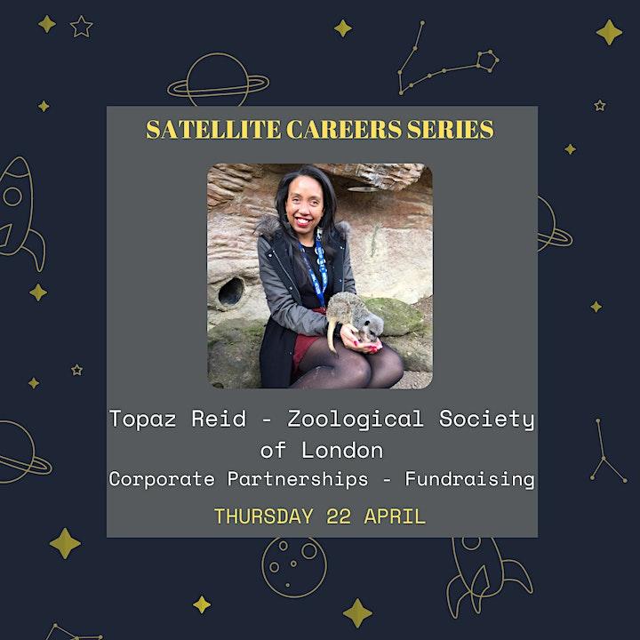Satellite Careers Series - Topaz Reid,  Zoological Society of London image