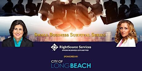 Business Plan Development - City of Long Beach tickets