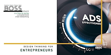 BOSS How-To: Design Thinking for Entrepreneurs tickets