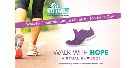 Walk With HOPE Virtual 5K 2021 tickets
