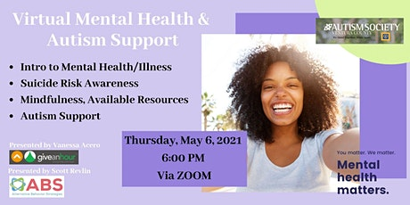 Virtual Mental Health and Autism Support tickets