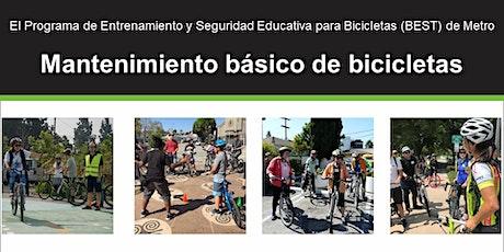 MES DE LA BICICLETA: Mantenimiento básico de bicicletas - Clase en línea entradas