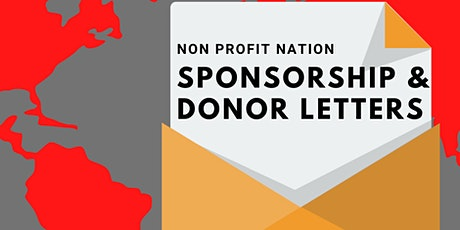 Non Profit Nation/ Sponsorship & Donor Letters tickets