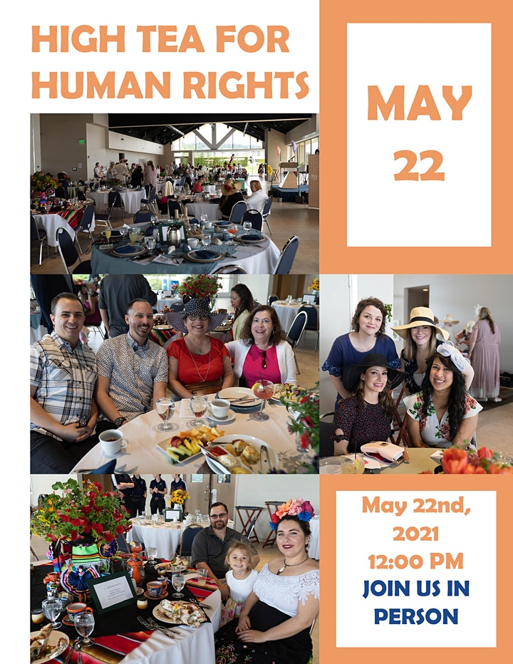 High Tea for Human Rights 2021 image