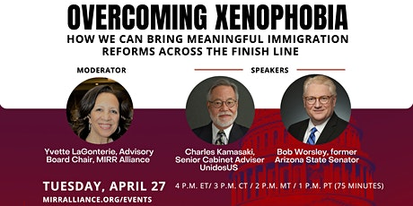 Overcoming Xenophobia: How we can bring meaningful immigration reforms acro tickets