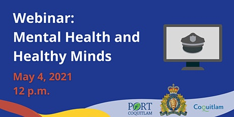 Mental Health and Healthy Minds - Community Safety Series tickets