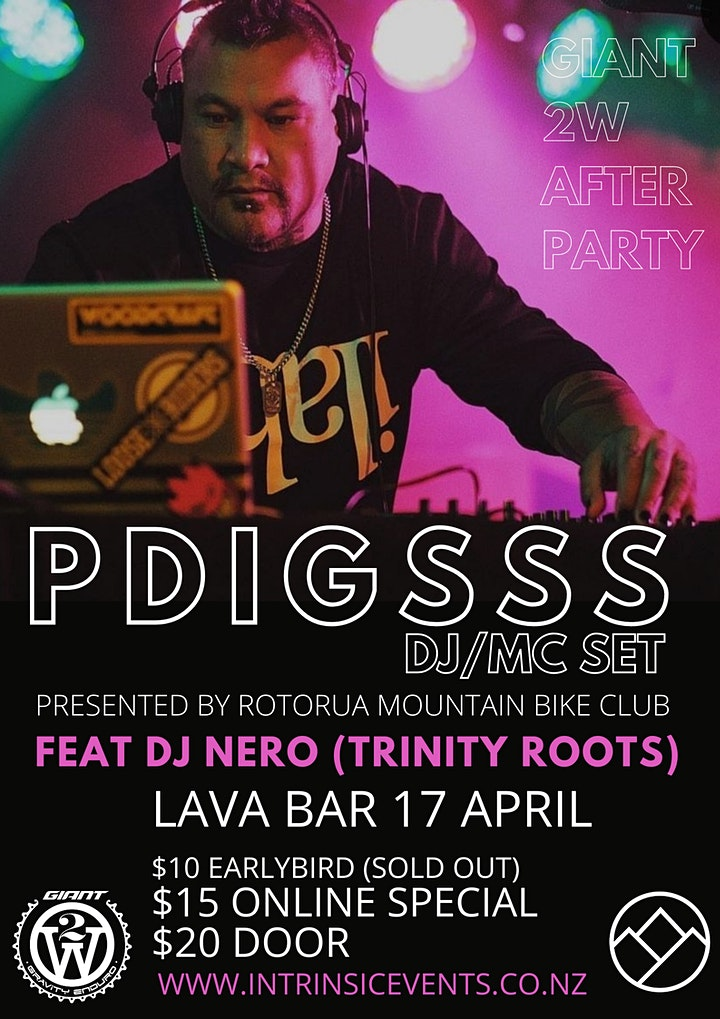 PDIGSSS DJ/ MC set + DJ NERO ( Rio - Trinity Roots) LAVA BAR Rotorua image
