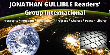 SAT 18Z - JONATHAN GULLIBLE Readers' Group International Zoom meeting. tickets