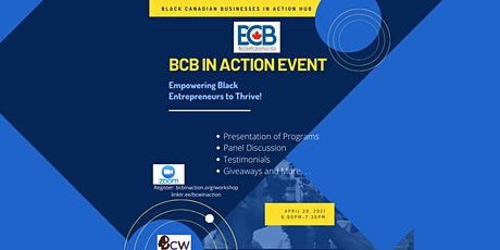 BCB In Action: Empowering Black Entrepreneurs to Thrive!! tickets