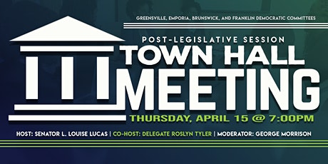 Post-Legislative Session Town Hall Meeting tickets