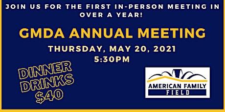 GMDA Annual Meeting 2021 tickets