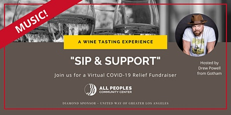 "All Peoples ""SIP and SUPPORT"" Wine Tasting Fundraiser Tickets"