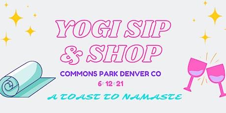 Yogi Sip & Shop tickets