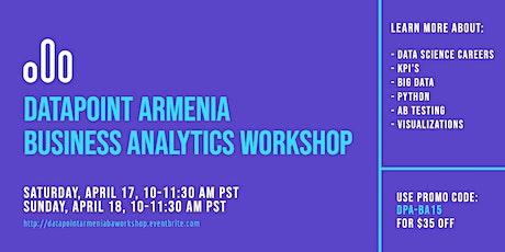 Business Analytics Beginner Workshop tickets