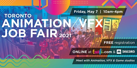 Toronto Animation/VFX Job Fair 2021 Tickets