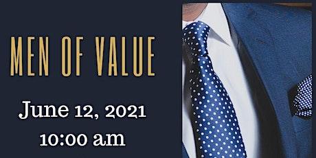 Men of Value tickets