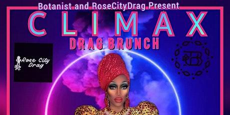 Climax Drag Brunch tickets