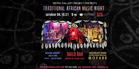 Traditional African Music Night tickets