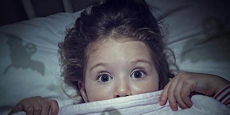 """Making sense of common sleep challenges in school-aged children"" tickets"