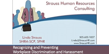 Recognizing and Preventing Workplace Discrimination and Harassment tickets